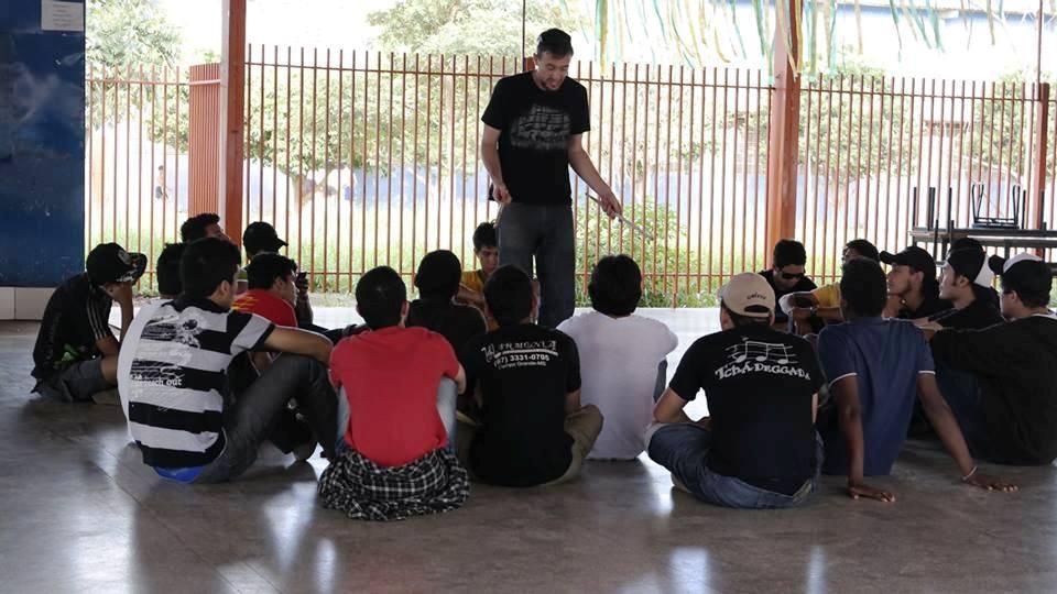John e seus alunos